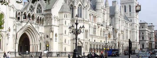High Court of Justice - Photo credit - UK Crown