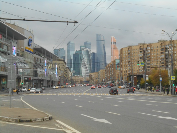 View on Moscow City - October 2017 - Copie